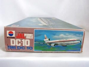プラモデル 旅客機 絶版 NITTO ニットー 1-100スケール 日東科学 日航 JAL DC-10 -002