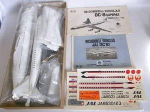 プラモデル 旅客機 絶版 NITTO ニットー 1-100スケール 日東科学 日航 JAL DC-10 -003