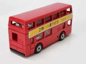 ミニカー 1/124 マッチボックス MATCHBOX 世界のダブルデッカー展 横浜 松坂屋 赤色 バス -02