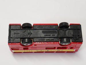 ミニカー 1/124 マッチボックス MATCHBOX 世界のダブルデッカー展 横浜 松坂屋 赤色 バス -05