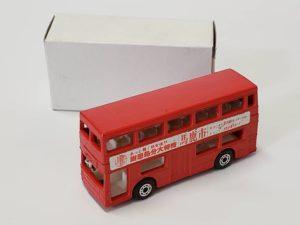 ミニカー  マッチボックス MATCHBOX 馬鹿市 赤色 バス -01