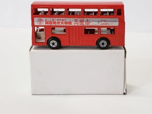 ミニカー  マッチボックス MATCHBOX いずみや(イズミヤ / IZUMIYA) 馬鹿市 赤色 バス -03