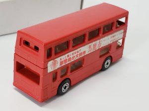 ミニカー  マッチボックス MATCHBOX 馬鹿市 赤色 バス -02