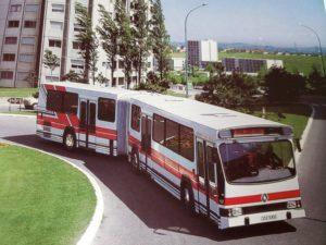 ルノー PR180 の市街地 連結 バス-01