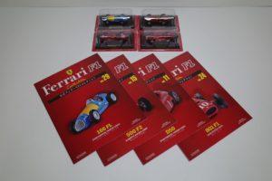 ミニカー 4点 フェラーリ 166FL/500 F2/D50/801F1 アシェット 1/43-01