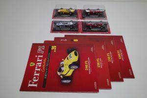 フェラーリ 246 F1/156 F1/158 F1 アシェット -01