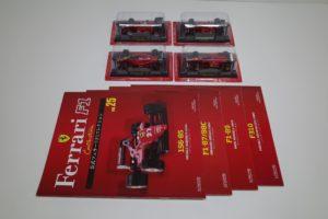ミニカー フェラーリF1 156-85/87/88C/89/F310 アシェット1/43 -01
