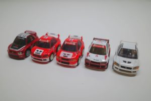 ミニカー チョロQ 三菱 ランサー エボリューション (ランエボ)-01