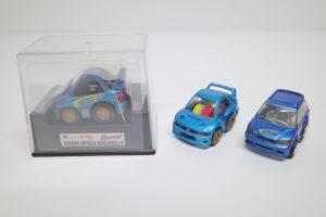 ミニカー チョロQ スバル インプレッサ レガシィ-01