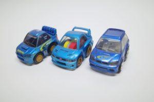 ミニカー チョロQ スバル インプレッサ レガシィ-02