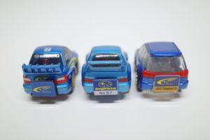 ミニカー チョロQ スバル インプレッサ レガシィ-03