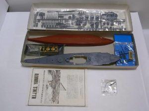プラモデル 船 ニチモ 1-500 日本海軍 超弩級 戦艦 大和 モーターライズ -03