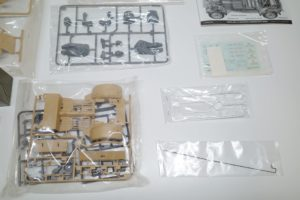 RC 電動ラジコン タミヤ 1/16 Pkw.K1 キューベルワーゲン 82型のパーツ展開図-02
