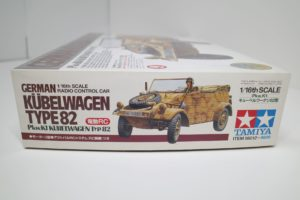 RC 電動ラジコン タミヤ 1/16 Pkw.K1 キューベルワーゲン 82型-03