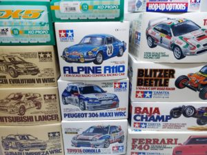 RC 電動ラジコン タミヤ 1/10 WRC ラリーカー フェラーリ F40他買取風景-02