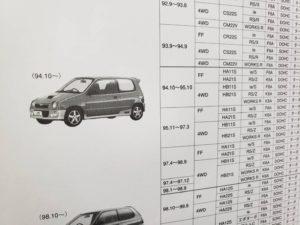 旧規格 H系 スズキ アルトワークス カタログよい-01