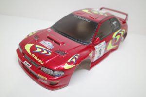スバル インプレッサ WRC スペアボディ 782 タミヤ 1/10 No. 50782 (782)を使用して作品例- 05