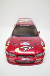 スバル インプレッサ WRC スペアボディ 782 タミヤ 1/10 No. 50782 (782)を使用して作品例- 02