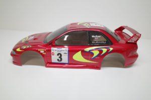 スバル インプレッサ WRC スペアボディ 782 タミヤ 1/10 No. 50782 (782)を使用して作品例- 01