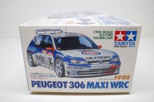 PEUGEOT プジョー 306 マキシ MAXI WRC #14No. 58224 -02