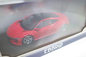 ミニカー EBBRO エブロ 1/43 ホンダ NSX (エヌ エス エックス) コンセプト 2013 レッド 45318 -01