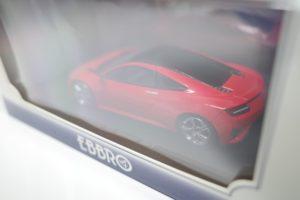 ミニカー EBBRO エブロ 1/43 ホンダ NSX (エヌ エス エックス) コンセプト 2013 レッド 45318 -02