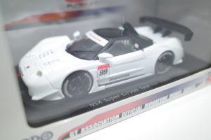 ミニカー EBBRO エブロ 1/43 ホンダ NSX テストカー SUPER GT No.99 -01