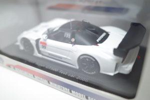 ミニカー EBBRO エブロ 1/43 ホンダ NSX テストカー SUPER GT No.99 -02