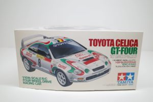 トヨタ TOYOTA セリカ CELICA GT-FOUR 97 モンテカルロ #8 No. 58201 -02