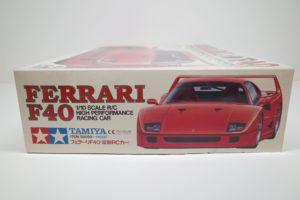 RC ラジコン タミヤ 1/10 Ferrari フェラーリ F40No. 58098 -02