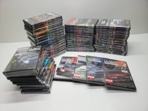 DVD 乗り物系資料 WRC 世界ラリー選手権 公認 セット買取風景-01