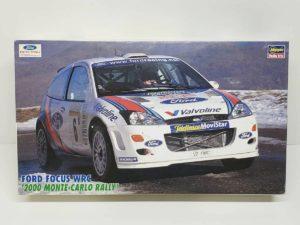 プラモデル 自動車 カーモデル  Ford フォーカス WRC 2000 モンテ ナイト ハセガワ 1/24スケール -01