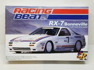 Racing Beat RX-7 ボンネビル SpeedTrial アオシマ 1/24