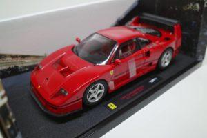 ミニカー ホットウィール 1-18 フェラーリ F40 Test Competizione RED -03