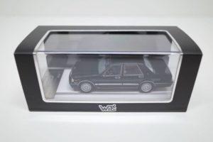 ミニカー 1-43 WIT'S W551 日産 セドリック ブロアム VIP 黒 1995-01b