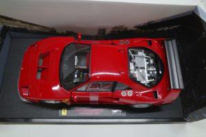 ミニカー ホットウィール 1-18 フェラーリ F40 Test Competizione RED -06