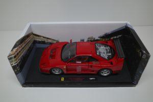 ミニカー ホットウィール 1-18 フェラーリ F40 Test Competizione RED -05