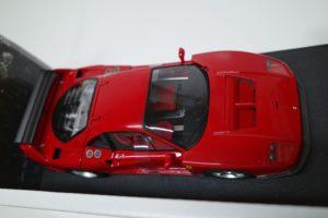 ミニカー ホットウィール 1-18 フェラーリ F40 Test Competizione RED -04
