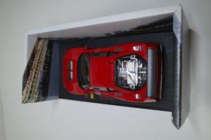 ミニカー ホットウィール 1-18 フェラーリ F40 Test Competizione RED -07