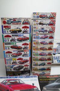 プラモデル 西部警察 1/24 アオシマ 1/32 マシーン RS-1/2/3/X/サファリ他マニアモデル買取事例より-02