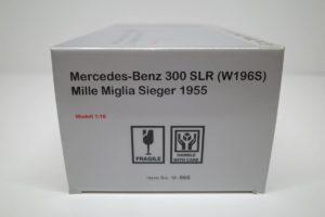 メルセデス 300 SLR W196S Mille Miglia Sieger1955 CMC 1-18◆PM47C -03