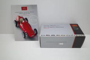Ferrari フェラーリ 500 F2 1953 DerDoppelweltmeister CMC 1-18◆MD90C-01