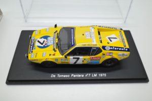 Spark 1/43 スケール ミニカー スパーク 1/43 デトマソ パンテーラ no.7 LM 1975-09