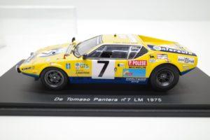 Spark 1/43 スケール ミニカー スパーク 1/43 デトマソ パンテーラ no.7 LM 1975-08