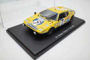 Spark 1/43 スケール ミニカー スパーク 1/43 デトマソ パンテーラ no.7 LM 1975-01