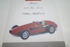 Ferrari フェラーリ 500 F2 1953 DerDoppelweltmeister CMC 1-18◆-04
