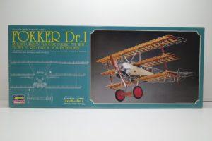 プラモデル ハセガワ ミュージアムモデル 1/8 フォッカーDR.1 航空機プラモデル -01