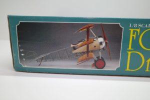 プラモデル ハセガワ ミュージアムモデル 1/8 フォッカーDR.1 航空機プラモデル 完成参考画像-02