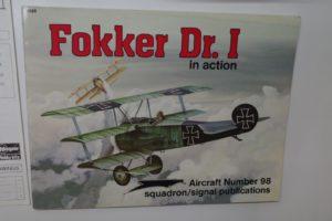 本 冊子 BOOK Fokker Dr. Ⅰ  in action 1098 Aircraft Number 98 -01