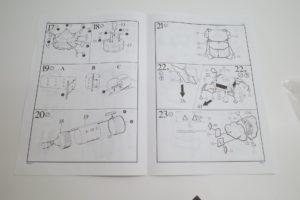プラモデル レベル 1/96 Revell アポロ サターンV型 ロケット 04805 の説明書 -05